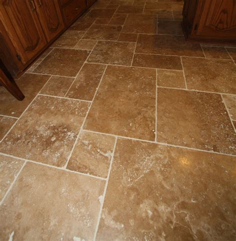Floor Tiles by Travertine Tile Floor Mediterranean Wall And Floor