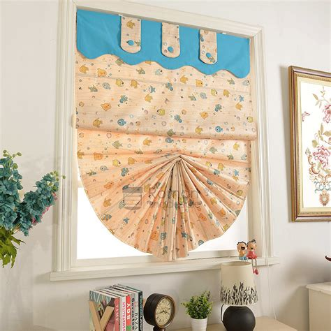 fish pattern roller blinds romantic pearl pink fish pattern printed discount roman shades