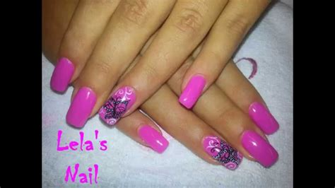 gelish tutorial nail art pink butterfly nail art gelish candyland gel nails