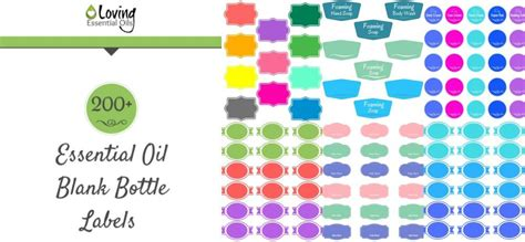 200 Free Essential Oil Labels You Can Print Up For Your Diy Recipes Loving Essential Oils Essential Bottle Label Template