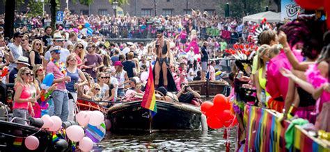 Amsterdam and gay pride