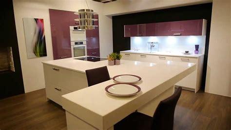 küchenblock weiß hochglanz wohnzimmer richtig einrichten