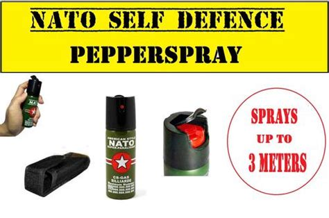 Nato Pepper Sprayer Personal Protection 60ml personal security 60ml american style nato