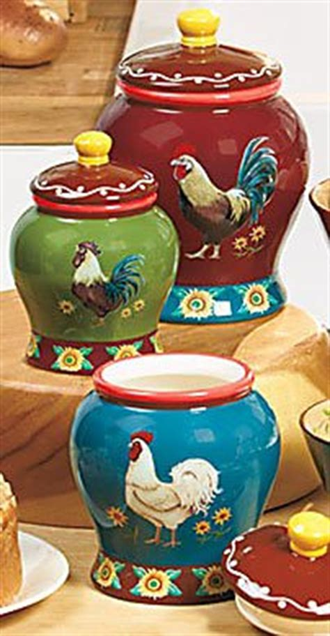 shabby country chic rooster tin canister set home decor ebay shabby country chic rooster tin canister set vintage