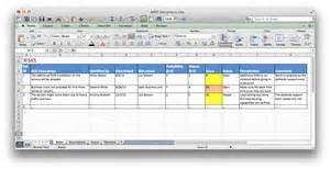Project Raid Log Template by R A I D Document
