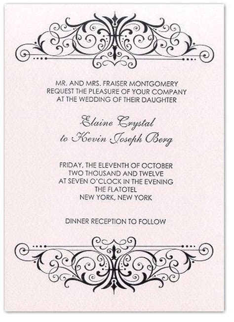 23 best images about traditional wedding invitation wording on