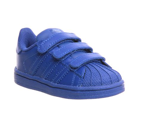 Adidas Supercolour For 37 40 adidas superstar infant 2 9 pharrell supercolour bold blue