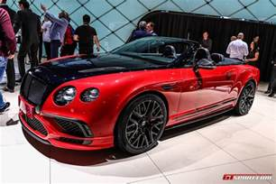 Bentley Gt Supersport Geneva 2017 Bentley Continental Supersports Coupe