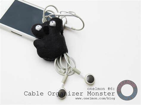 Gelang Karet Freak Bercak diy cable organizer onelmon