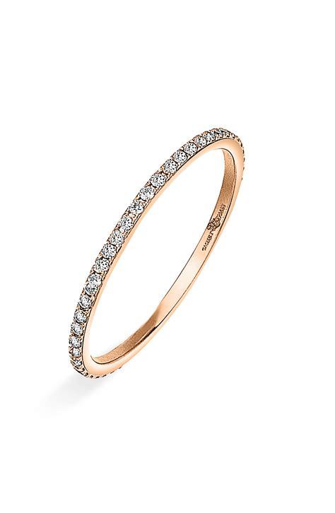 ivanka black white thin ring in pink