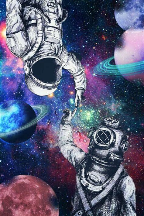 planet astronaut galaxy image  lizeth colunga