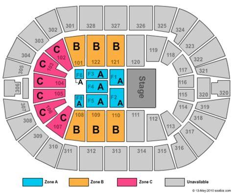 bok center tulsa seating chart bok center tickets in tulsa oklahoma bok center seating