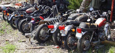 boat junk yard dallas tx live motorcycle salvage yard auction june 5 2004 dallas