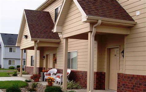prairiewood apartments  townhomes north sioux city