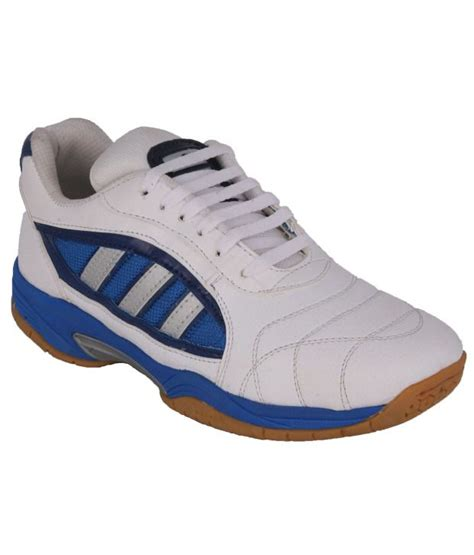 badminton sport shoes ess white leather badminton sport shoe price in india buy