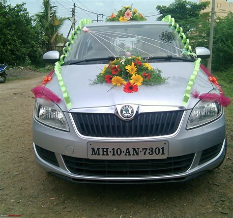 decorating  car   marriage function page  team bhp