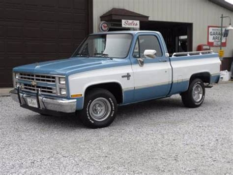 87 chevrolet truck for sale 1987 chevrolet silverado 1500 for sale carsforsale