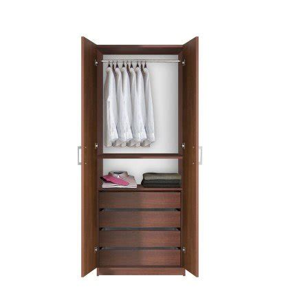 armoire with hanging space bella hanging wardrobe armoire closet contempo space