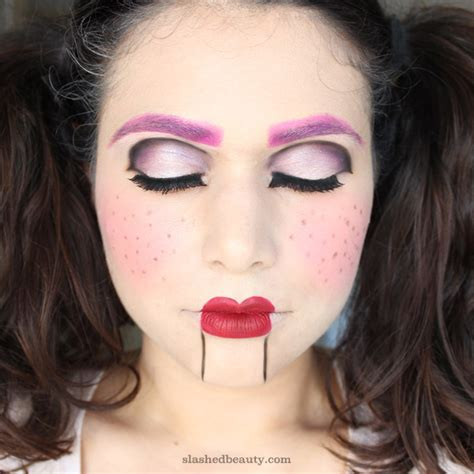 City Color Liquid Lip Stain Cheek Makeup Lipstick Blush On Ventriloquist Doll Makeup Tutorial Slashed