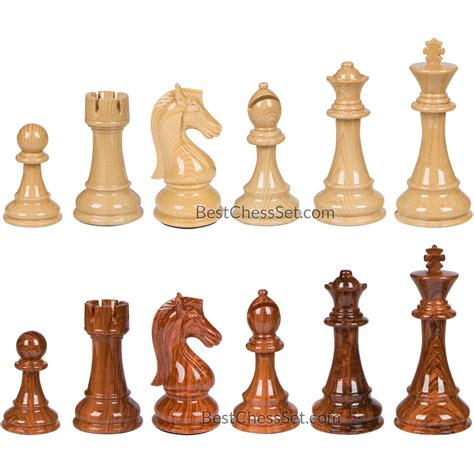 nero high polymer extra heavy weighted chess pieces