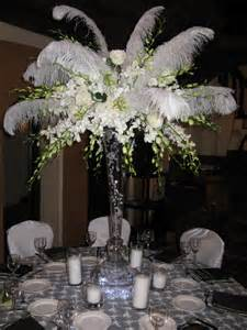 feather centerpieces 18 best feather centerpieces images on