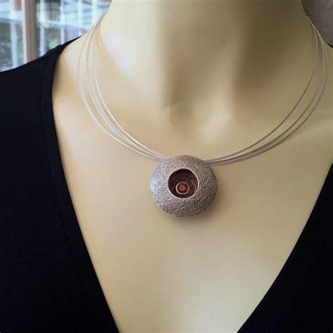 Kalung Fashion Lace Bird Nest Necklace birds nest slide pendant