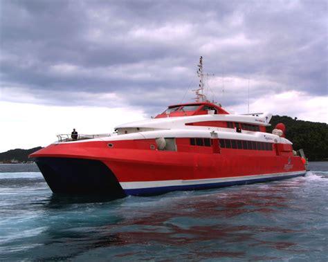 tiedosto highspeed catamaran ferry jpg wikipedia - Catamaran Ferry Speed