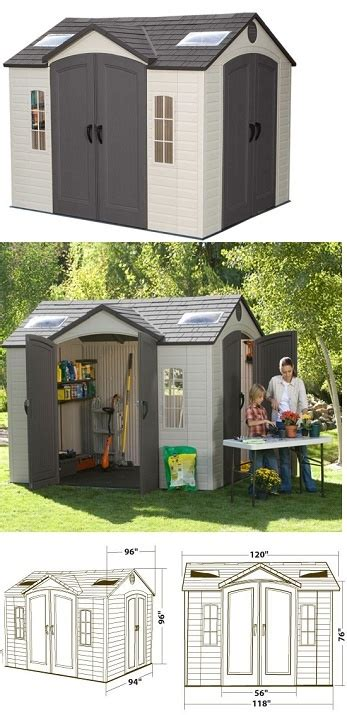 17 best ideas about lifetime storage sheds on
