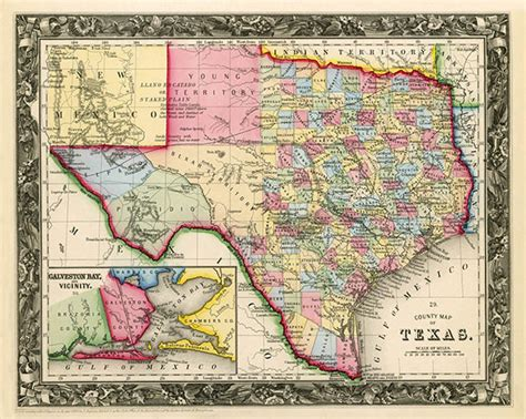 vintage texas maps decorating with maps