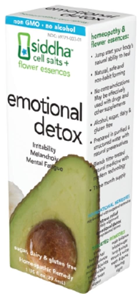 Emotional Detox Siddha Review Safety by Emotional Detox Whole Foods Magazine