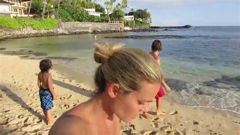 nudismo in casa parte 2 praia casa do pai do surf hawaii e fam 237 lia