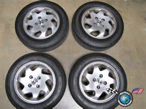 1999 Honda Accord Tire Size 98 00 Honda Accord Factory 15 Quot Wheels Tires Oem Rims 63776