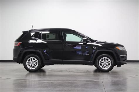jeep compass 2018 black 2018 jeep compass sport sport utility in pontiac