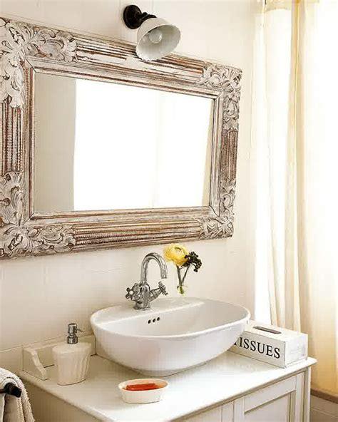 Framed Bathroom Mirrors Ideas by Mirror Ideas For Bathrooms Design Decoration
