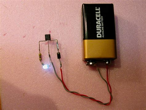 how to test direction of a diode constant brightness led project