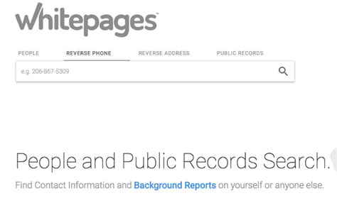 White Pages Search White Pages Lookup