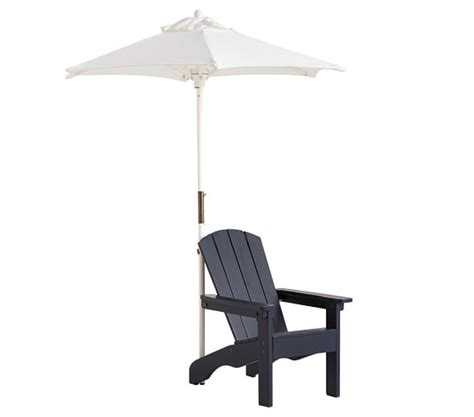 childs adirondack chair with umbrella adirondack chair umbrella pottery barn