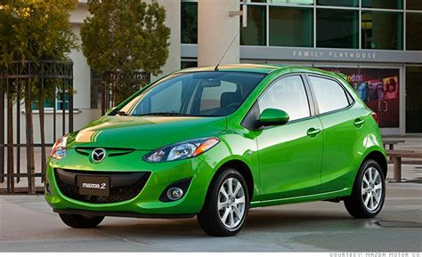 mazda cheapest car mazda2 10 cheapest cars in america cnnmoney