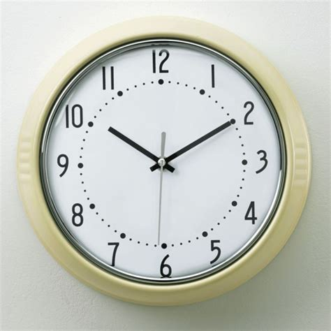 Retro Kitchen Clocks Uk by Wall Clock From Homebase Country Classic Buys Warm