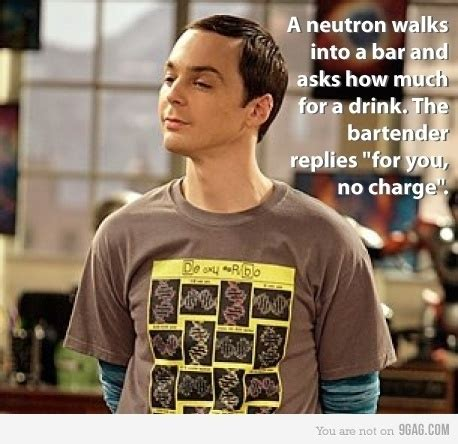 Proton Walks Into A Bar Science Jokes Hilarity Jokes The Big