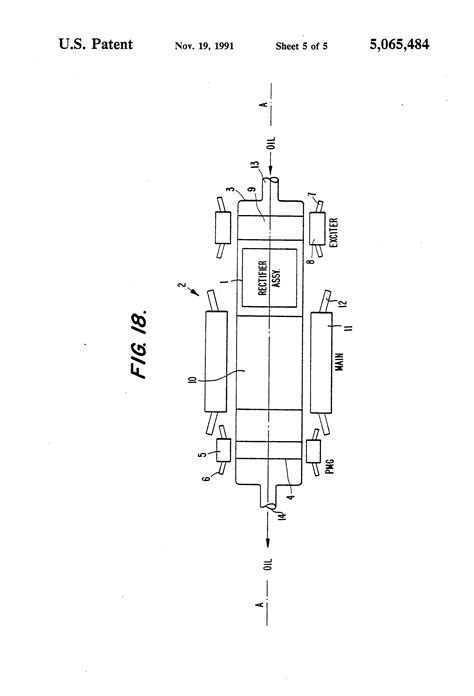 rectifier diode assembly patent us5065484 rotating rectifier assembly patents