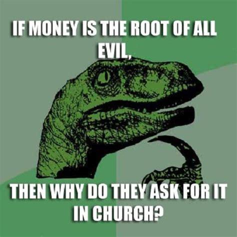 Meme Dinosaur - philosoraptor meme