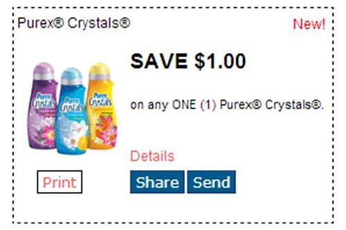 printable purex crystals coupons