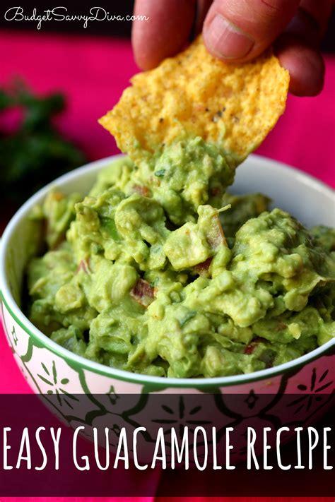 Lifestylefood A Delicous Guacamole Recipe by Easy Guacamole Recipe Dishmaps
