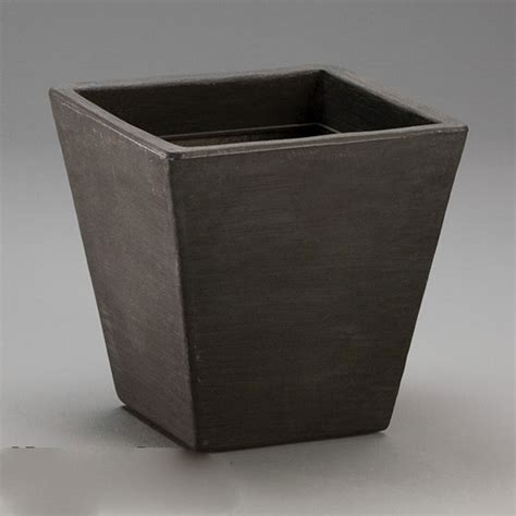 Square Planters by Jardin Tapered Square Planter Square Resin Garden Planters