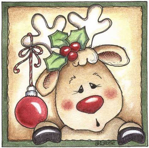 imagenes navidad renos dibujo de reno imagui