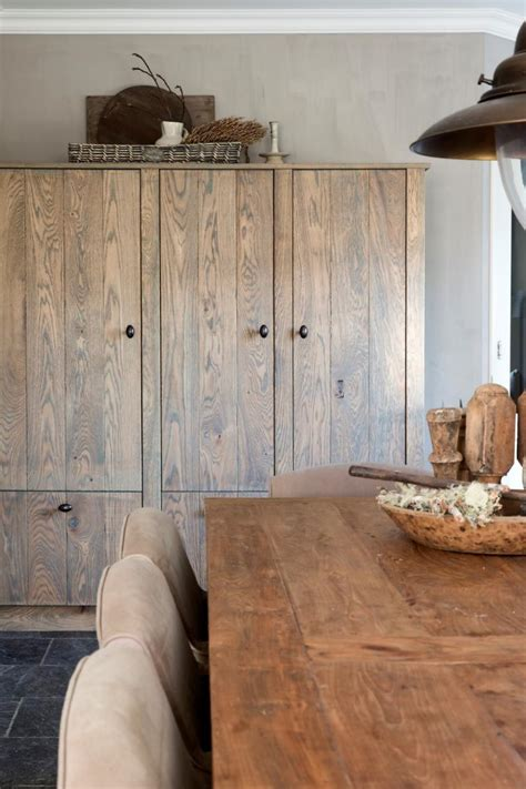 landelijke keuken kasten eiken houten keukens
