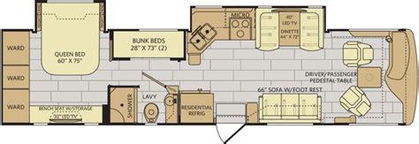 bunkhouse rv floor plans 12 must see rv bunkhouse floorplans general rv center