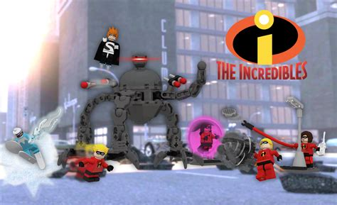 Gamis Set 2 lego ideas the incredibles vs s omnidroid