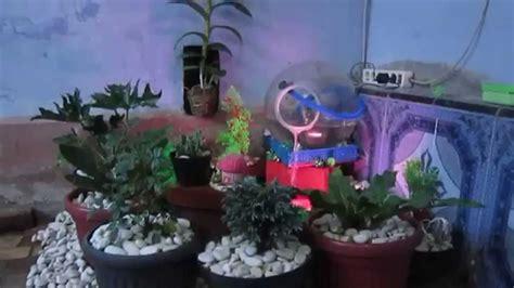 cara membuat air oralit sendiri membuat taman air terjun sendiri youtube